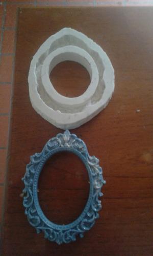 molde caucho de silicona marco .