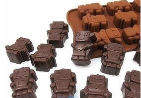 9db6bad52594 Molde Chocolate Silicon Jabon Gomita Hielo De Robot