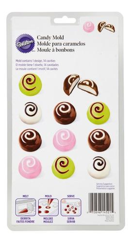 molde chocolate trufa wilton 2115-1521
