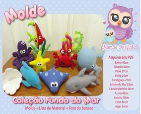 f77cb2c97 Moldes Em Feltro Bebes - Artesanato no Mercado Livre Brasil