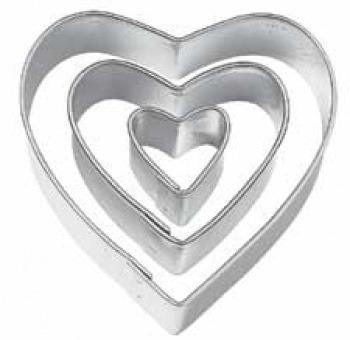 molde cortante corazon