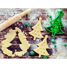Molde Cortante Para Galletas Árbol De Navidad