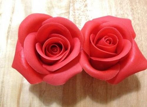 molde cortante para rosas reposteria fondant porcelana fria