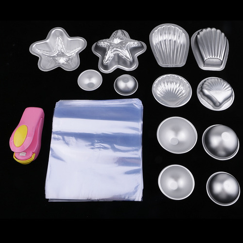 molde de bomba de baño de 12 piezas con 200 unidades de