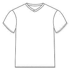 10962e02ffc83 Molde De Camiseta Gola Careca