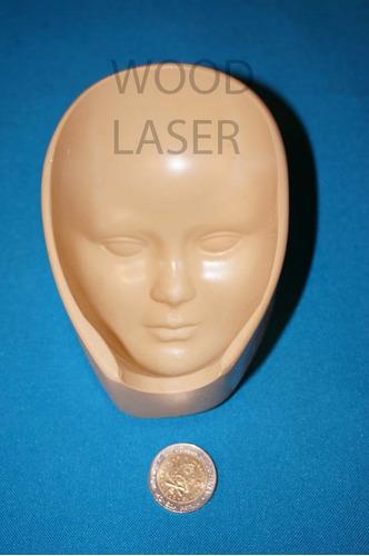 molde de cara rigido para porcelana fria,exclusivos.mod. 10