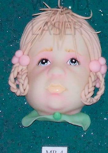 molde de cara rigido para porcelana fria,exclusivos.mod. 4
