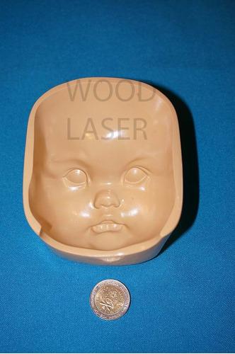molde de cara rigido para porcelana fria,exclusivos.mod. 7