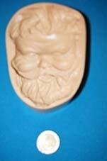 molde de cara rigido para porcelana fria,exclusivos.mod. 9