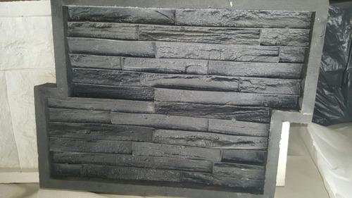 molde de caucho  piedras encastrable