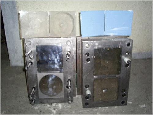 molde de injeção plástica - estojo para cd