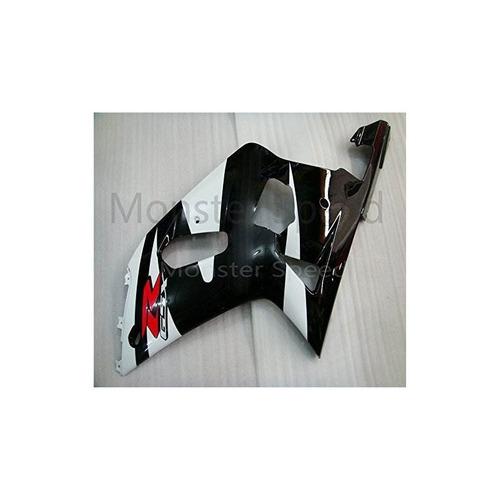 molde de inyección de kit de carenado completo abs, negro bl