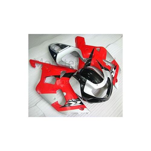molde de inyección de kit de carenado completo abs red silve