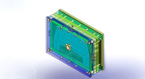 molde de inyección de plástico diseño