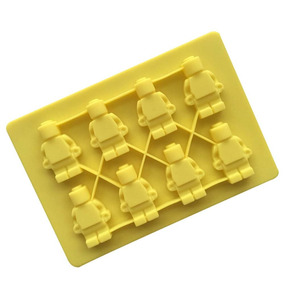 5bd9d3b2e869 Molde De Lego De Silicon Para Hielo Chocolate Jabon
