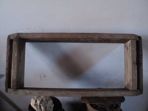molde de madera antiguo