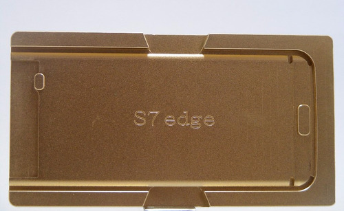 molde de metal para samsung s7 edge laminacion oca