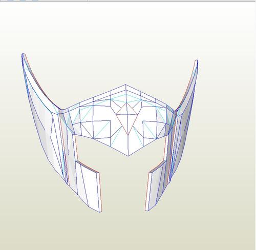 molde de papel cavaleiros do zodiaco papercraft