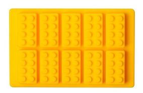 8b844ba5ba55 Molde De Silicón De Bloques Lego Hielo Chocolate Jabón Velas