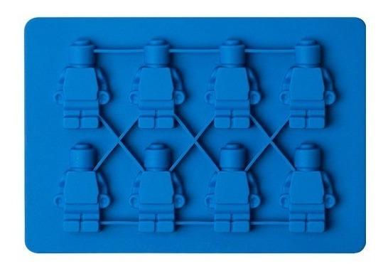 df12918cea96 Molde De Silicón De Muñecos Lego Hielo Chocolate Jabón Velas