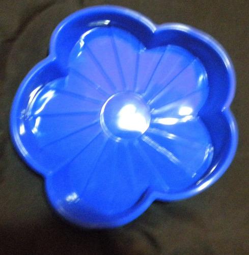 molde de silicón en forma de flor