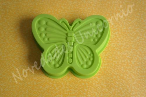 molde de silicon mariposa chica pastel fondant gelatina