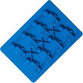 117e83cadde8 Molde De Silicón Muñecos Lego Hielo Chocolate + Envío Gratis