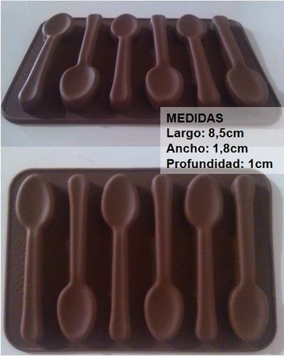 molde de silicon para bombones de chocolate. repostería