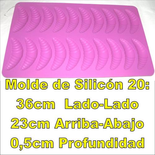molde de silicon para fondant decora torta gelatina quesillo