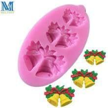 molde de silicona flexible campanas navideas campanas navideas - Campanas Navideas