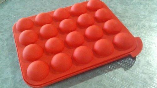molde de silicona para cake pops - 20 cavidades - dos lembas