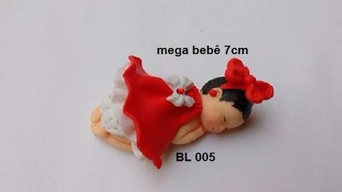 molde de silicone - bebê de bruços mega (cod. bl005)