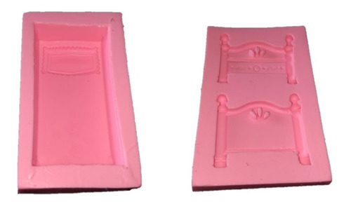 molde de silicone cama completa biscuit pasta americana
