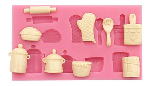 molde de silicone cozinha chá de panela pasta americana
