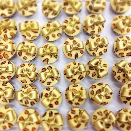 molde de silicone laços biscuit pasta americana