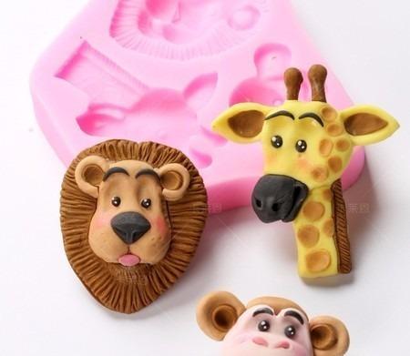 molde de silicone safari biscuit pasta americana