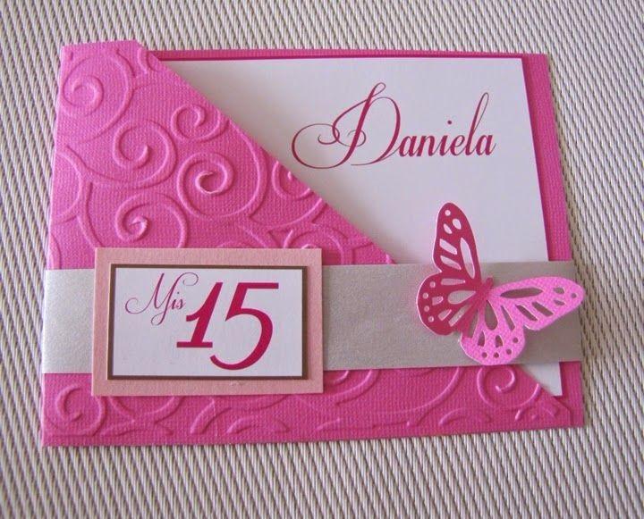 Molde Digital Convite Borboleta Rosa Scrapbook Silhouette R 1499