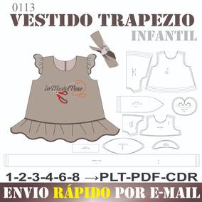 af5da07bd2 Molde Vestido De Bebe no Mercado Livre Brasil