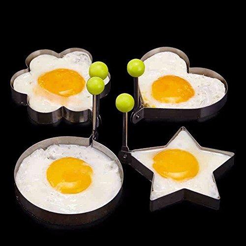 Molde en acero inoxidable para hacer figuras con huevo - Figuras de acero inoxidable ...
