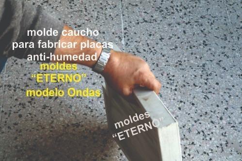 molde  eterno goma  serrana encastrable placa  antihumedad