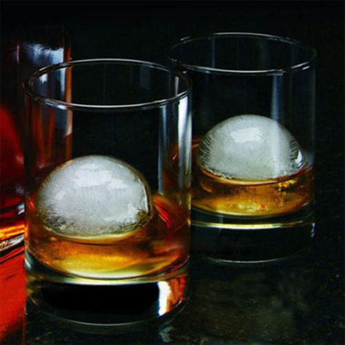 molde hielo esfera bola 4.5cm silicona