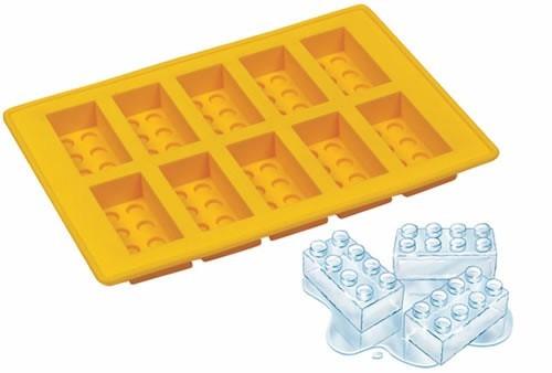 molde hielo, gomita, cholateria lego - modelo cubo ladrillo