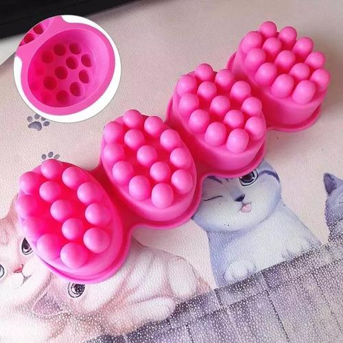 molde jabón silicón estimulante masaje