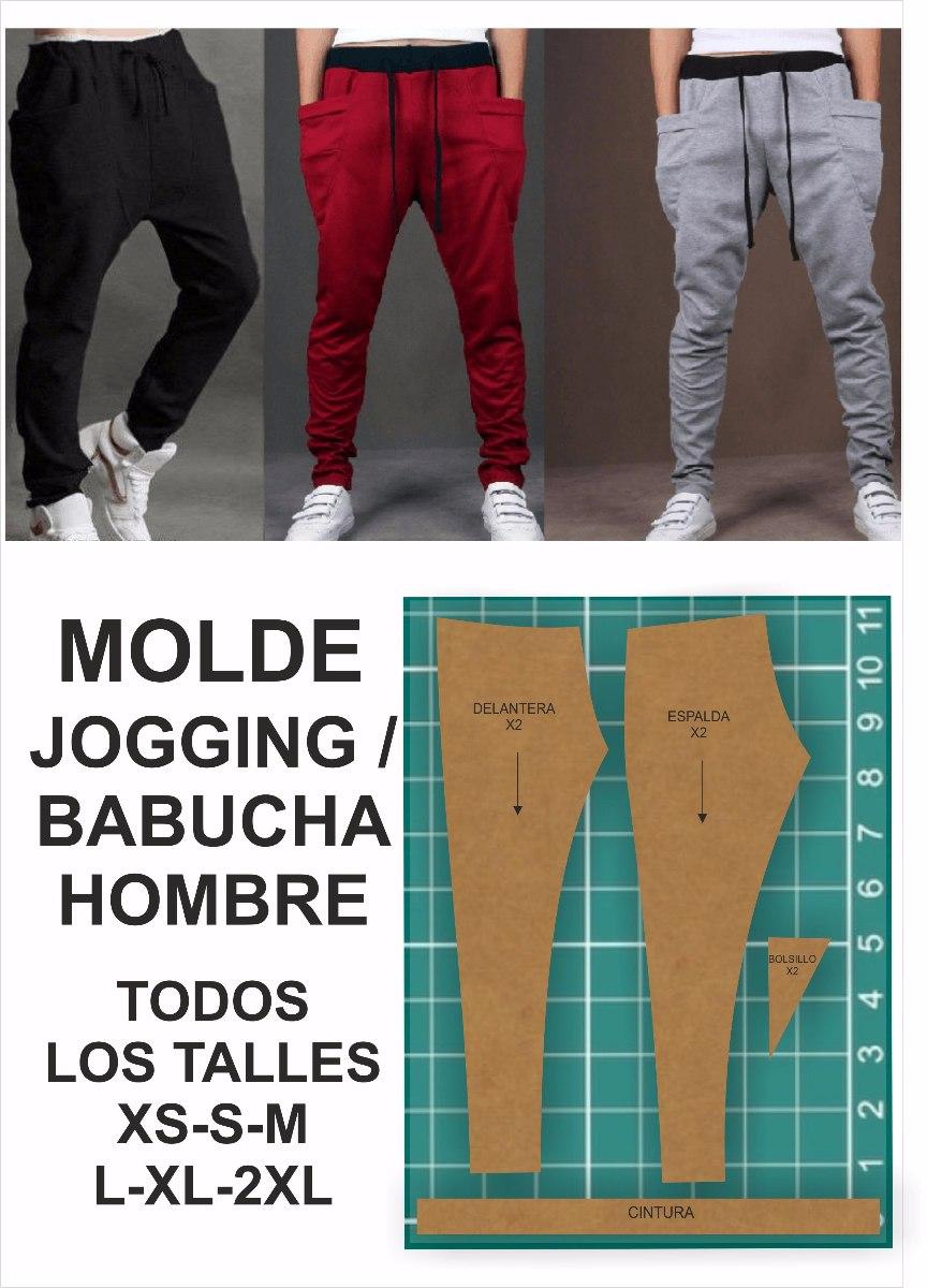 7970d7c77d140 Molde Jogging Hombre