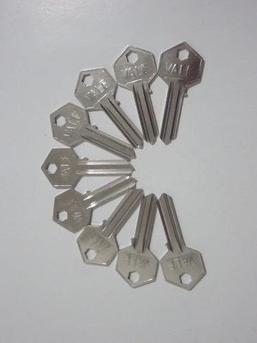 molde llave tipo vale, 10 cajas x 50 moldes de llave