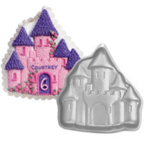 molde metalico castillo encantado tortas, reposteria wilton