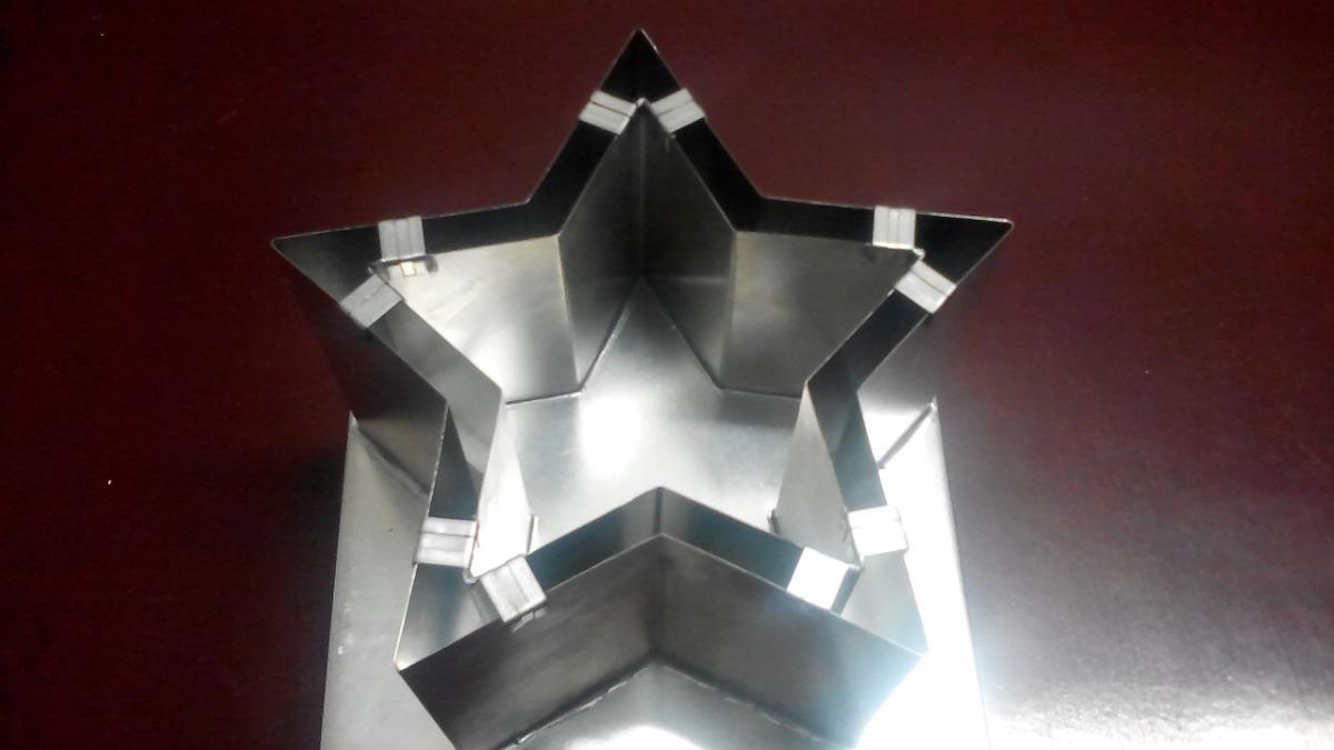 e126de79341 molde metálico pantalla estrella para hacer vela de parafina. Cargando zoom.