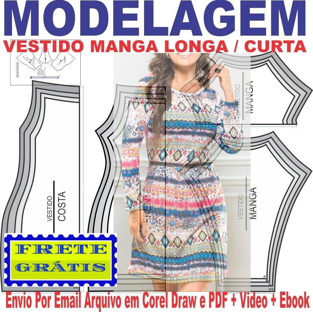 673839610 Molde Modelagem Maiô Collant Infantil Com Sainha 1 A 7 Anos - R$ 10 ...