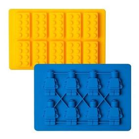 3dcddeb46374 Molde Muñecos + Bloques Lego De Silicón + Envío Gratis