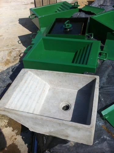 molde o formaleta para la fabricacion de batea/lavandero